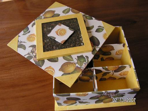 Dans ma messagerie les bo tes th de flo et d 39 odile - Tuto boite en carton ...