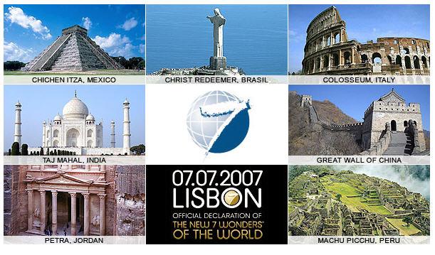 les 8 merveilles du monde moderne